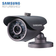 Samsung SDC-5440 Outdoor Bullet Camera - 600TVL, 3.6mm Lens, IR Night View, IP66