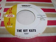 KIT KATS-BREEZY/WONT FIND BETTER THAN ME oldies VG+ VINYL RECORD 45