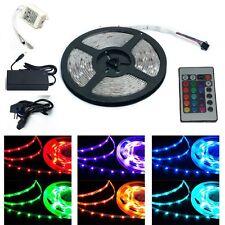 LED 30/m SMD 5050 Lichtband Streifen Kette Leiste 5m 150 LED RGB Flex Band Strip