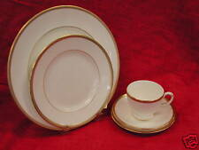Wedgwood Golden Madrid 5 Piece Place Setting  NEW!