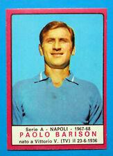 CALCIATORI PANINI 1967-68-Figurina-Sticker - BARISON - NAPOLI - Recuperata