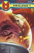 MIRACLEMAN #1 : JOE QUESADA 1:100 VARIANT : MARVEL COMICS 2015 : NEIL GAIMAN