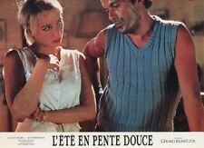 PAULINE LAFONT JEAN-PIERRE BACRI L'ÉTÉ EN PENTE DOUCE 87 PHOTO D'EXPLOITATION #3