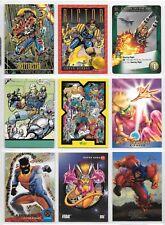 X-Force, X-Men, Marvel card lot