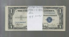 Silver Certificate $1 1935's & 1957's  au 44 notes