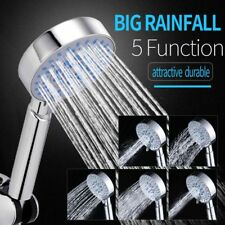 High Quality Multifunctional Silica Gel Holes Water Saving Round Shower Head New