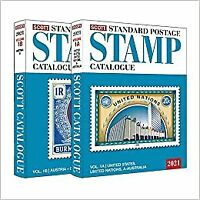 2021 Scott Standard Postage Stamp Catalogue - Volume 1 (US & A-B) (Scott Catalog