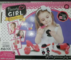 PLAY SET MAKE UP GIRLS TODDLER TOYS BEAUTY PRINCESS ELECTRIC HAIR DRYER TOY