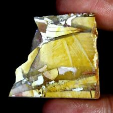 57.70 CT 100% Natural Bricceted Mookaite Flat Base Rough 35 x 37 mm Cabochon
