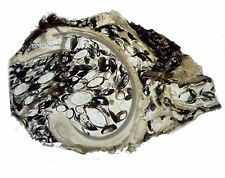 Eocene Green River Ostracods filling Elimia snail fossil THIN SECTION Wow! (sml)