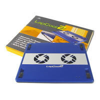 Vantec Lapcool 2 Notebook Cooler with Dual Adjustable Speed Fan