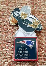 NEW ENGLAND PATRIOTS 5 Time SUPER BOWL CHAMPIONS LAPEL PIN