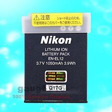 Genuine Original Nikon EN-EL12 Li-Ion Battery for Coolpix P300 S Series S610 S70