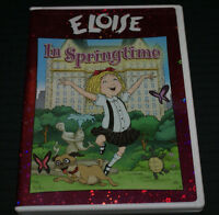 Eloise in Springtime (DVD, 2008) Animated Used Plays Perfcetly Fast Shipping