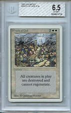 MTG Unlimited Wrath of God BGS 6.5 PL Variant Card Magic The Gathering 0726