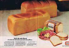 PUBLICITE ADVERTISING 095 1981 Duroi pain de mie (2 pages)