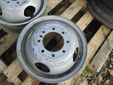 "used 8 lug 16"" x6.00  RIM dexter hub pilot wheel dual tandem trailer dexter 4.88"