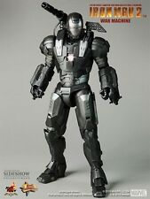Side show hot toys 1/6 figure iron man war machine mms120