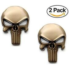 - Magwell Metal Decal/Sticker Punisher Skull (Fde)