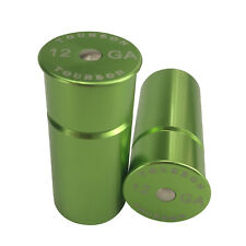 Tourbon Training Rounds Dummy 12 GA Gauge Shotgun Snap Caps 2Pcs Green Tactical