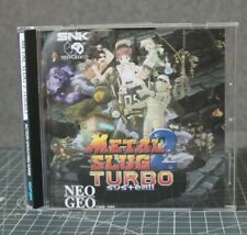 Neo Geo CD Metal Slug 2 TURBO
