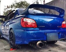 02-07 Subaru Impreza Zero Sports Style Trunk Spoiler Wing 4DR CANADA USA WRX STI