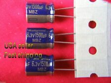 4 pc  -  1500uf  6.3v  electrolytic capacitors FREE SHIPPING