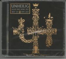 """UNHEILIG """"Alle hat seine Zeit"""" Best Of 1999-2014 - CD NEU & OVP"""