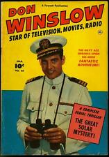 Don Winslow of the Navy #66 1951- Fawcett golden age photo cover VG/F