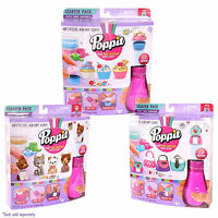 Poppit Air Dry Clay Starter Pack - Choose Handbags, Cupcakes or Mini Puppies