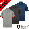 """60% OFF"" ISLAND GREEN MENS CoolPass® EMBOSSED PATTERN GOLF POLO SHIRT"