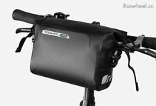 ROSWHEEL DRY SERIES 3-Ltr quality waterproof sealed seam handlebar bag small UK