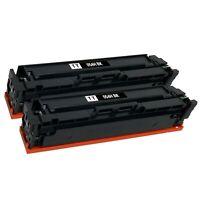 2 Pack 054H XL Toner Cartridge for Canon MF641cw MF642cdw MF644cdw LBP-622cdw