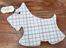 """Westie Scottie Cutting Board Terrier Dog 13"""" Cheese New Summer Home Decor"""