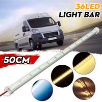 12V 50cm 36LED 5630 SMD Interior Strip Light Bar Car Van Caravan Motorhome Boat