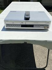 Sony SLV-D100 DVD VCR Combo VHS Recorder HiFi Stereo TESTED WORKING with Remote