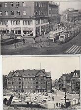 2x alte Ansichtskarte Zabrze ca 1965, vor 1945 Schlesien Hindenburg