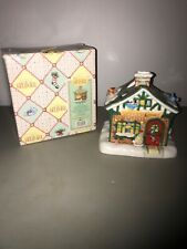 Enesco Mary Engelbreit Breitville Wonder Books Building Candle Holder Tealight