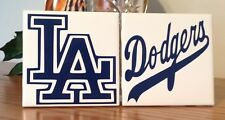 Los Angeles Dodgers ceramic tile coasters (set of 2)
