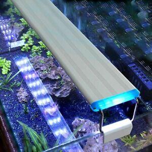 Aquarium LED Light Super Slim Fish Tank Aquatic Plant Grow Lighting Clip Lamp