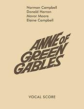 Anne Of Green Gables Partitura vocal Musicales voz aprender a jugar Faber música Libro