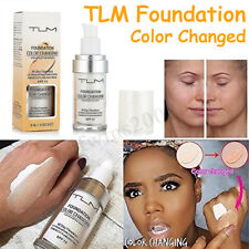 30ml TLM Fonds de Teint Change Couleur Peau Maquillage Correcteur Solaire Crème