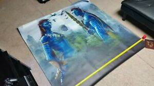 James Cameron Avatar 2009 Banner HUGE 5ft Vinyl Rare