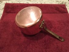 Made In France Small Copper Sauce Pan