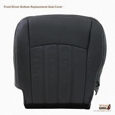 2010 2011 2012 Dodge Ram 2500 Laramie Driver Bottom Leather Seat Cover Dark Gray