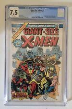 Giant Size X-Men #1 CGC 7.5 White 1st Storm 2nd Full Wolverine