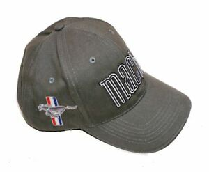 Mach 1 Mustang Hat - Cool Mustang Mach 1 Baseball Cap - High Quality Embroidery!