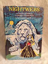 Cornell Woolrich - NIGHTWEBS - 1st/1st 1971 Harper in DW - Peter Haining's Copy