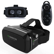 SHINECON 2.0 VR Goggles 3D Glasses Virtual Reality Headset + Bluetooth Control
