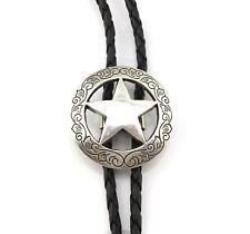 New listing Texas Sheriff Star Western Cowboy Rodeo Bolo Tie